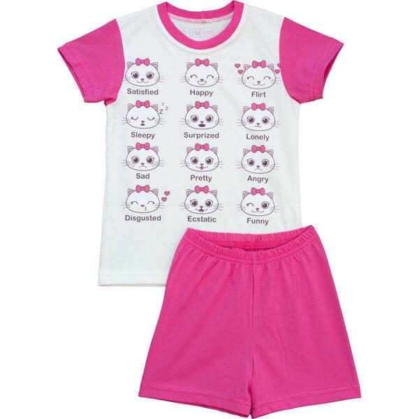 Cicás nyári pizsama kislányoknak - Pampress 142faa7041