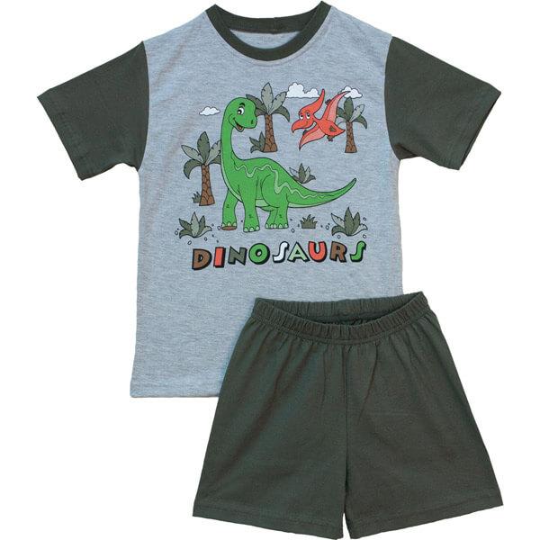 Dinos nyári pizsama 7fc9d4709e