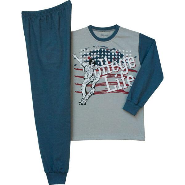 Gördeszkás fiú kamasz pizsama f6a4f51265