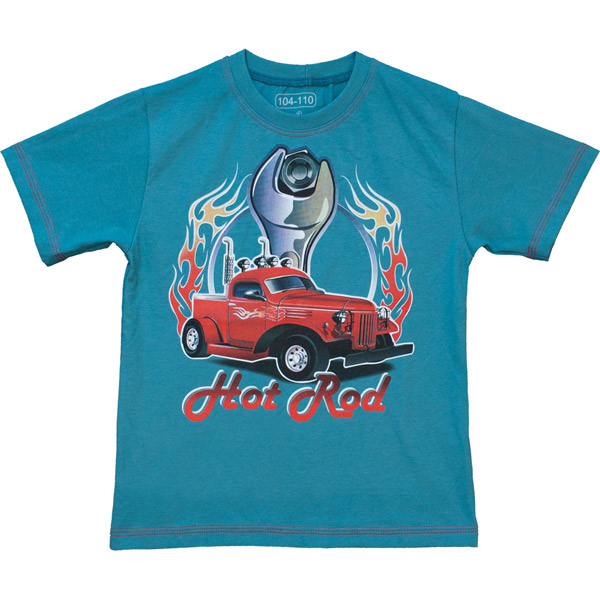 Hot Rod autós póló - kék 5aa7b5995a