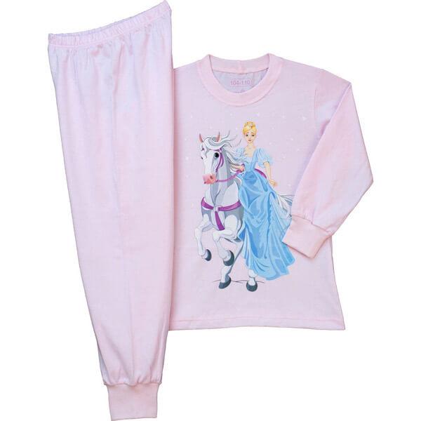 Királylányos lányka pizsama - Pampress 453e4166a9