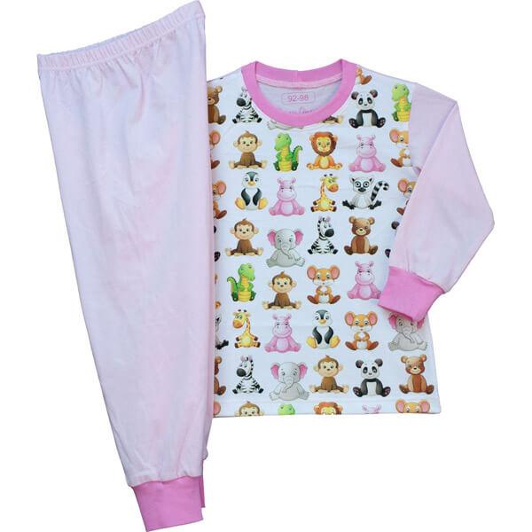 Kisállatos gyerek pizsama kicsiknek c1be1659f9