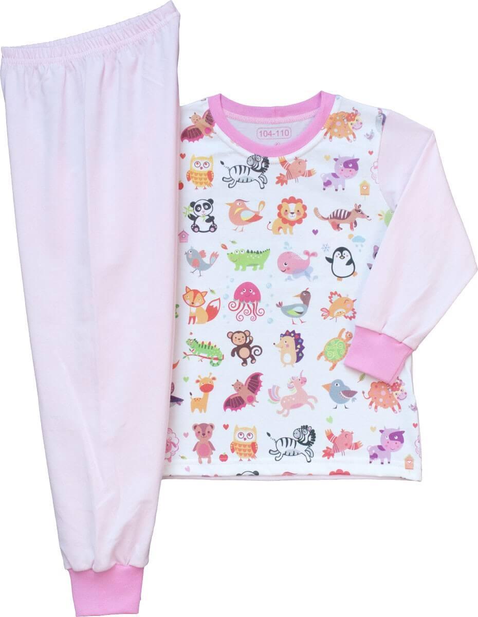 Kisállatos pizsama lányoknak b2600ee9ce