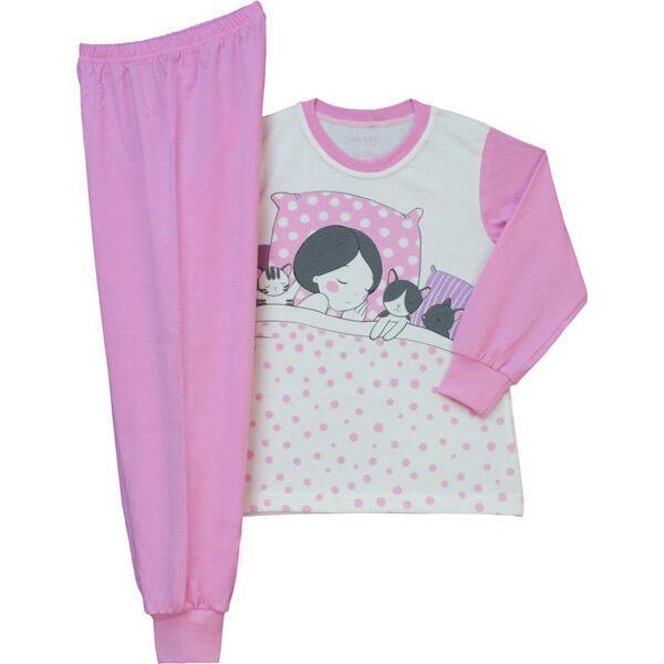 Lányka pizsama - alvó kislányos 0259aea79c