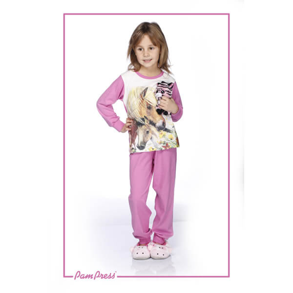 Lovas pizsama - virágos - TPLOV60124 - 2f97c2640d