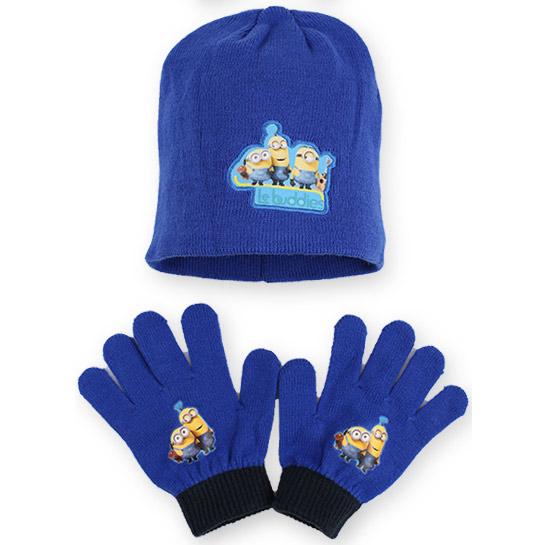 Minions sapka és kesztyű - kék - SET780-336KEK - 567146337f