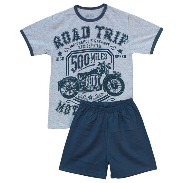 Motoros pizsama - nyári - NPMOT50113 2 - dc409cd615