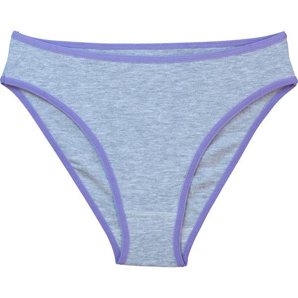 Női elasztikus bugyi - melír lila cbe7a4cc74
