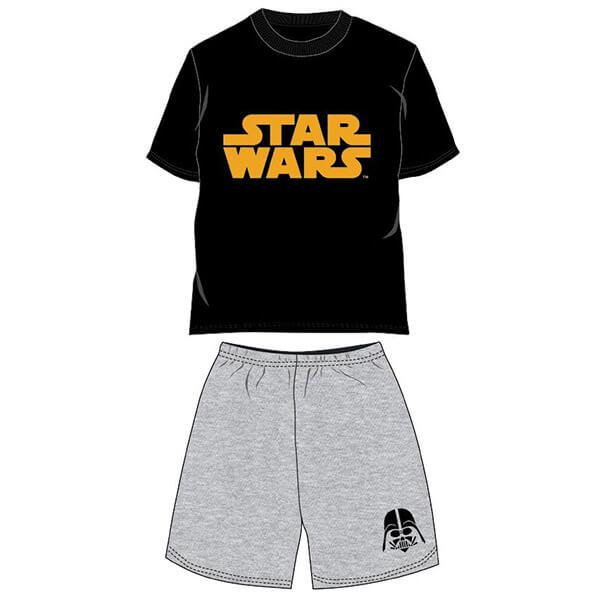 Star Wars nyári pizsama - fekete pólóval 8bbf9beae3