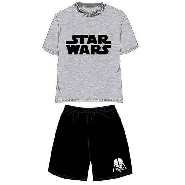 Star Wars nyári pizsama - szürke pólóval 8daca77c13