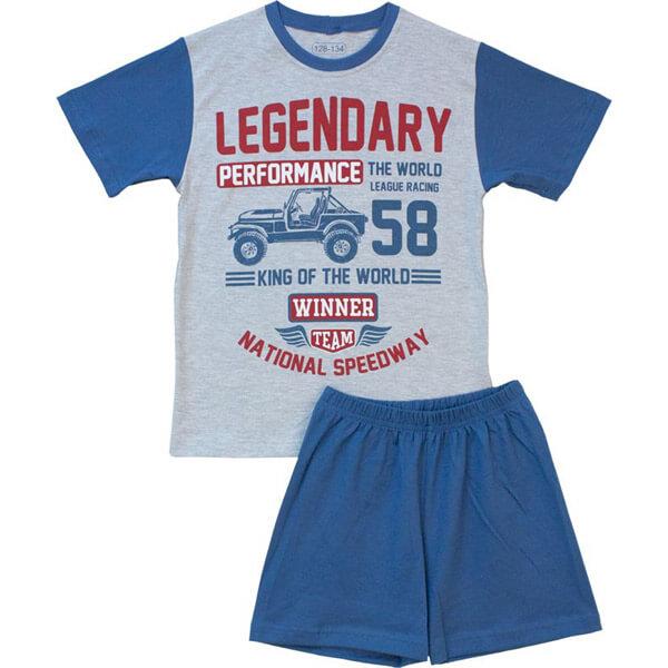 Terepjárós fiú pizsama - nyári - NPTER70113 - 76cfd1428c
