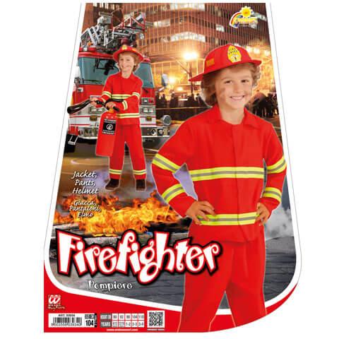 Tűzoltó jelmez kicsiknek - 116 méret