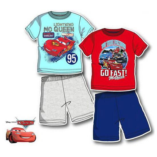 Verdás nyári pizsama - piros felsővel c8296d9470