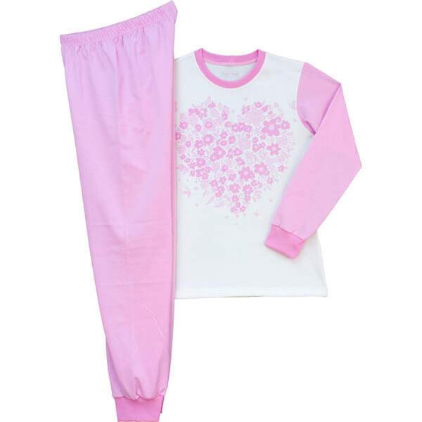 Virágos lány pizsama 977f604adf