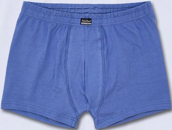 Férfi boxeralsó - sztreccs - rövidszárú - kék