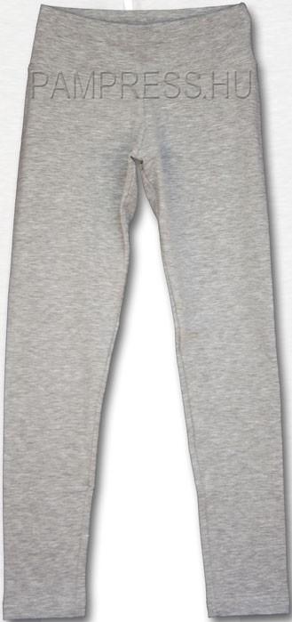 01492deeb9 Lány vékony Legging nadrág - melír szürke