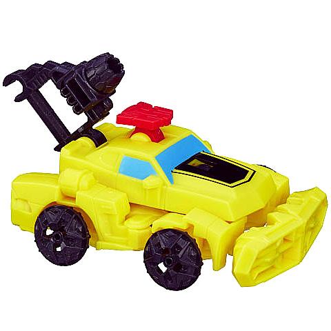 Transformers: Űrdongó Dinobot Rider építhető robot figura - Hasbro