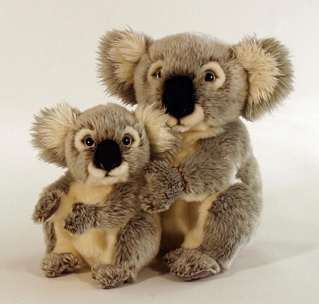 Plüss Koala maci - 20 cm - kisebb