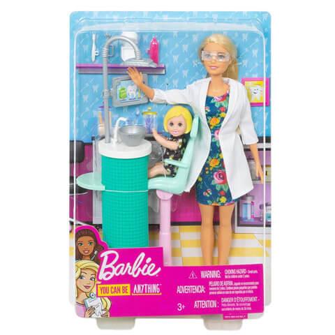 2ce240afa607 Barbie baba fogorvosi játékszett - kisbabával és kiegészítőkkel - Mattel