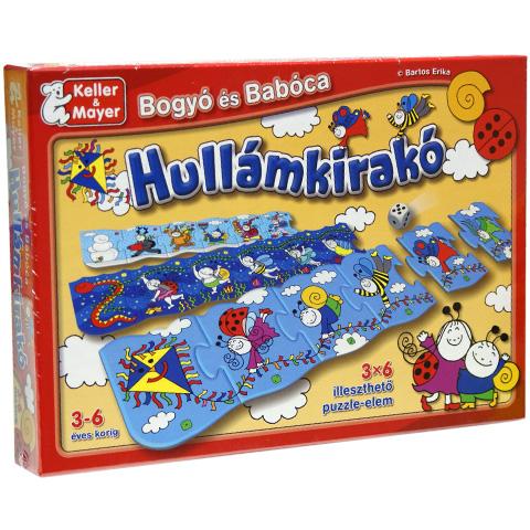 Bogyó és Babóca Hullámkirakó puzzle