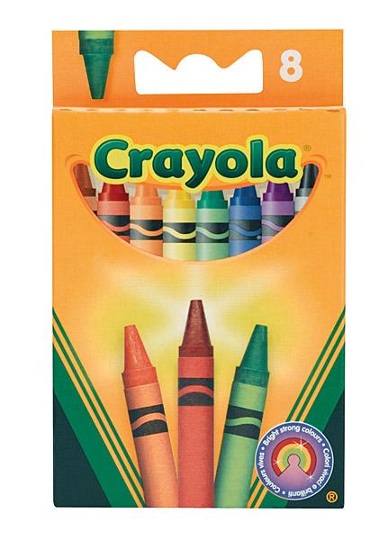 Crayola viaszkréta - 8 darabos