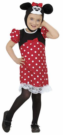 Egér lány jelmez kicsiknek - 110 méret f939093784