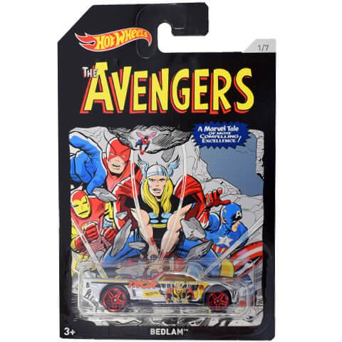 f9d17fd3e7 Hot Wheels Avengers Bedlam kisautó - 1/64 - Mattel