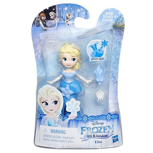 Jégvarázs Elsa minifigura - hópelyhes - 9 cm c2ef41190d