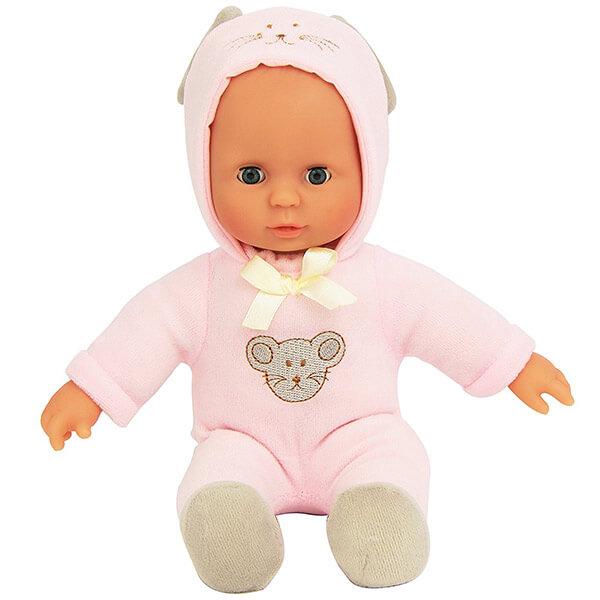 Laura baba állatos ruhában - Egérke - 28 cm