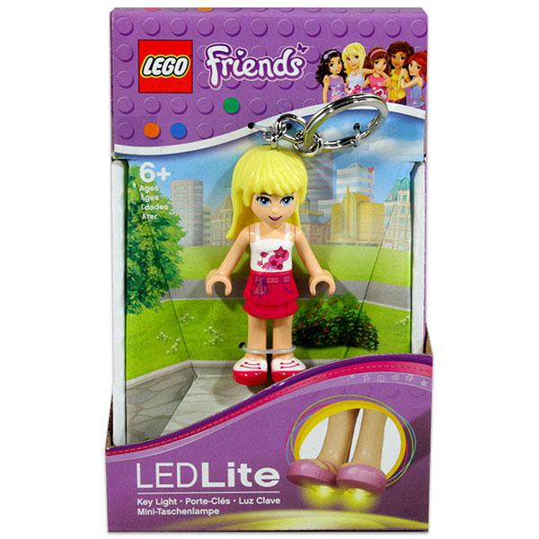 Lego Friends világítós kulcstartó - stephanie
