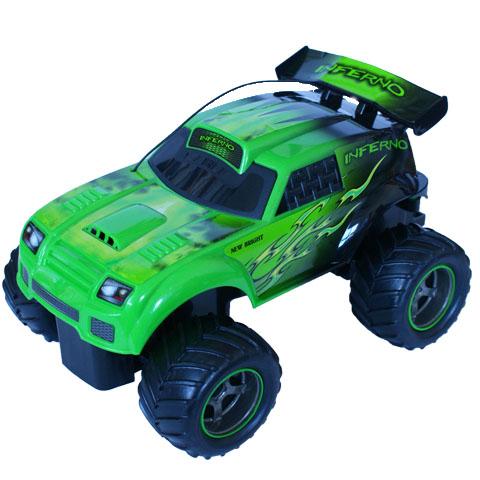 New Bright Turbo Dragons RC távirányítású autó - 1:18