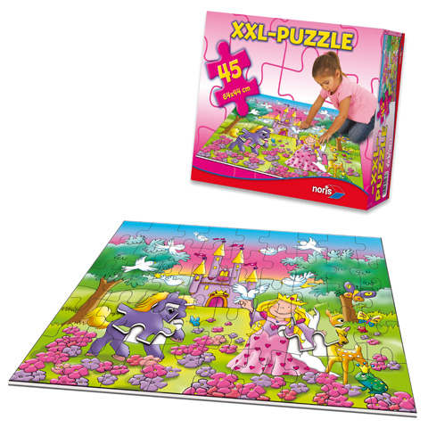 Óriás Hercegnős puzzle - Noris