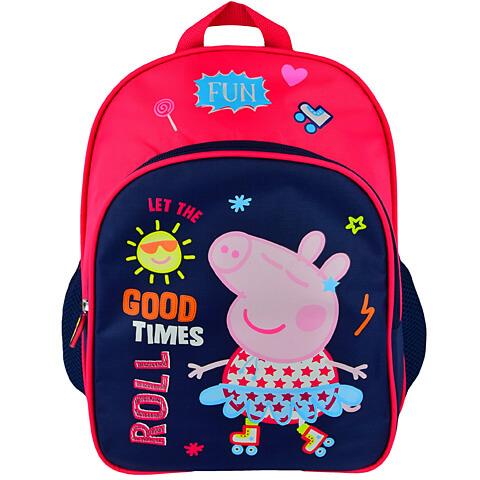 Peppa malac nagy ovis hátizsák - 32x25 cm - piros pink 249129a887