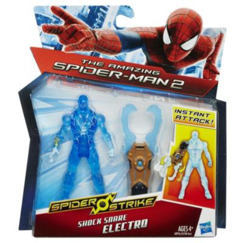 Pókember Electro figura electrokarom gépezettel - Hasbro