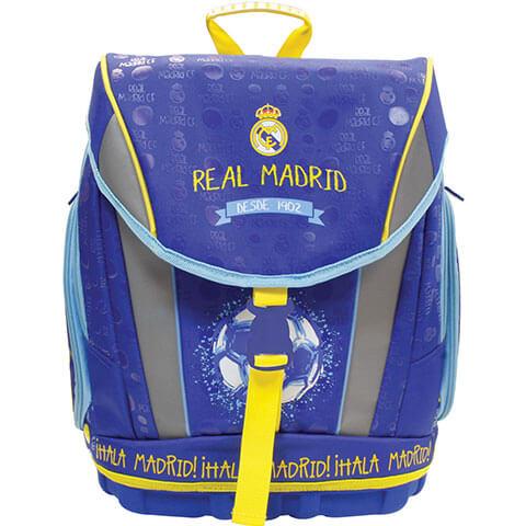 f49d9266902b Real Madrid ergonomikus iskolatáska/hátizsák - kék-sárga - JS-53282 -