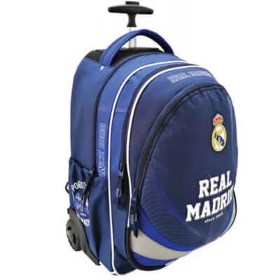 c2726f6193c7 Real Madrid trollis hátizsák - 33x18x47 cm - kék színben