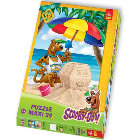 Scooby Doo a tengerparton 24 db-os Maxi Puzzle