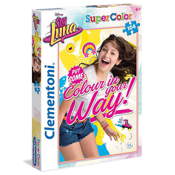 Soy Luna puzzle - 104 darabos - Clementoni ff5947f45a