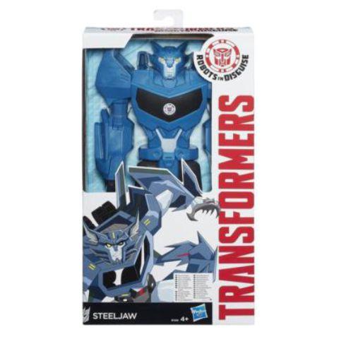 Transformers Robots in Disguise Steeljaw Titánhős robotfigura 30 cm Hasbro