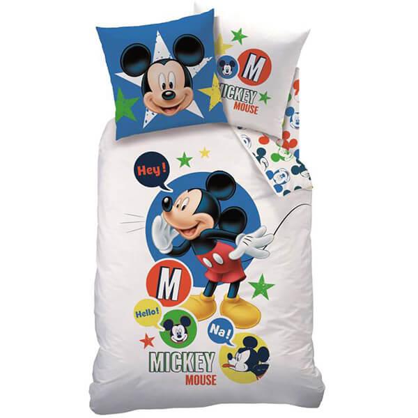 Mickey Mouse ágyneműhuzat garnitúra - JVL-CMA044650 - edaee6aa96