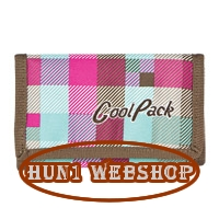 Cool Pack p�nzt�rca - kock�s - pink/barna
