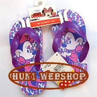 Minnie Mouse Strandpapucs - lila